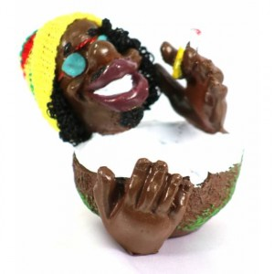 CERAMIC ASHTRAY RASTA BOWL MAN