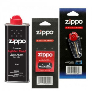 ZIPPO GENUINE FLINTS AND WICKS