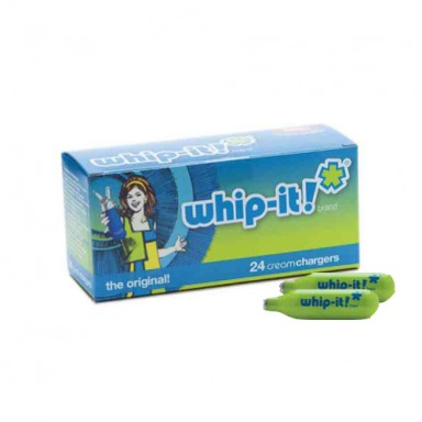 WHIP-CREAM CHARGERS  SPECIAL BLUE 24 PACK