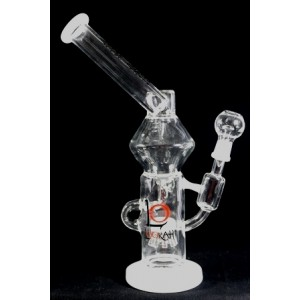 "LOOKAH 13"" STEMLESS + DOUBLE RECYCLER + SPRINKLER + SIDECAR LOOKAH KLEIN WATER PIPE 625 GM"