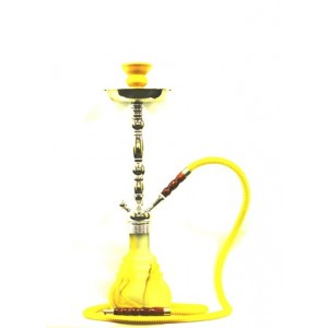 "21"" EXUDE ONE HOSE HOOKAH WITH LIGHT"
