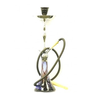 "26"" WIDE BASE EXUDE ONE HOSE HOOKAH"