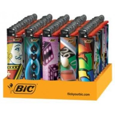 BIC CASINO LIGHTER 50CT