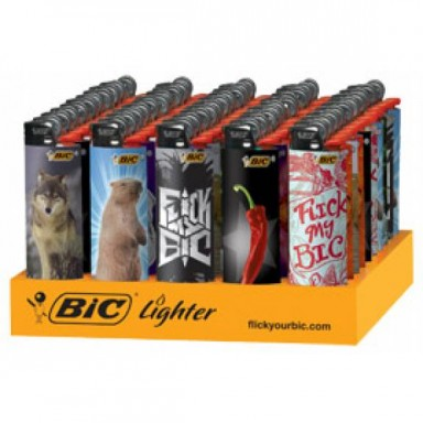 BIC PICTURES LIGHTERS 50CT