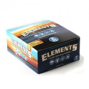 ELEMENTS ULTRA THIN RICE KING SIZE ROLLING PAPERS (SUGER GUM)