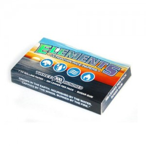 ELEMENTS ULTRA THIN RICE ROLLING PAPERS (SUGER GUM)