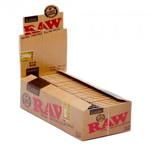 RAW CLASSIC 1-1/2SIZE PAPER