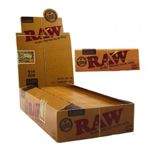 RAW CLASSIC 1-1/4 SIZE PAPER