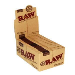 RAW CLASSIC CONNOISSEUR 1-1/4 SIZE+TIPS