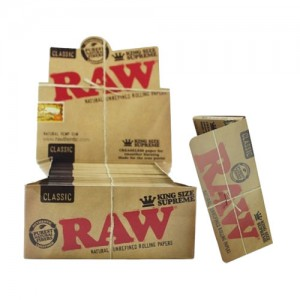 RAW CLASSIC KING SIZE SUPREME PAPER