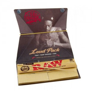 WIZ KHALIFA LOUD PACK 1-1/4SIZE TRAY.PAPERS.TIPS