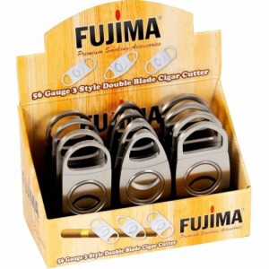 FUJIMA 54 GAUGE DOUBLE CIGAR CUTTER 24 CT